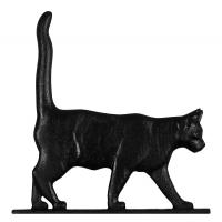 "30"" Cat Standing Weathervane - Rooftop Black"
