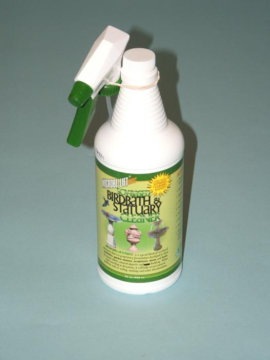 Microbe-Lift 32 Ounce Bird Bath and Statuary Cleaner