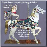 Elegant Stander USA Carousel Horse