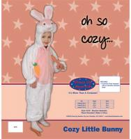 Dress Up America Cozy Little Bunny - Size 4
