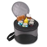 Picnic Time Caliente Portable Charcoal BBQ Grill in a Carrying Tote/Cooler
