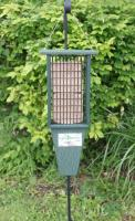 Songbird Essentials Double Suet Bird Feeder, Green