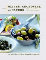 Chronicle Books Olives, Anchovies, and Capers Cookbook