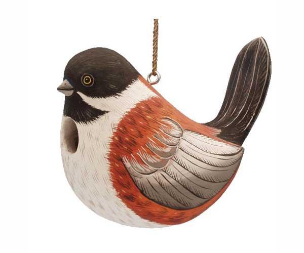 Bobbo Birdhouse Fat Towhee