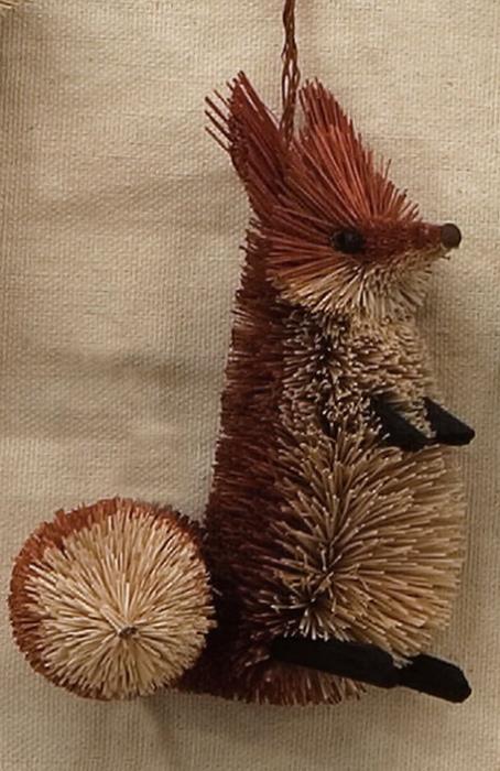 Brushart Fox Ornament