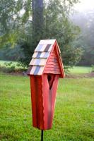 Heartwood Air Castle Bird House, Redwood