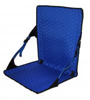 Crazy Creek HEX 2.0 LongBack Chair, Black/Royal Blue