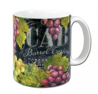 Counter Art Chalkboard Wine Mug 11 oz