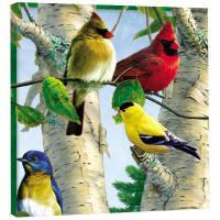 Tree Free Greetings Favorite Songbirds Art Plaque