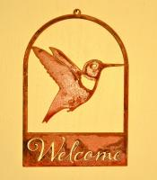 Elegant Garden Design Hummingbird Roundtop Welcome
