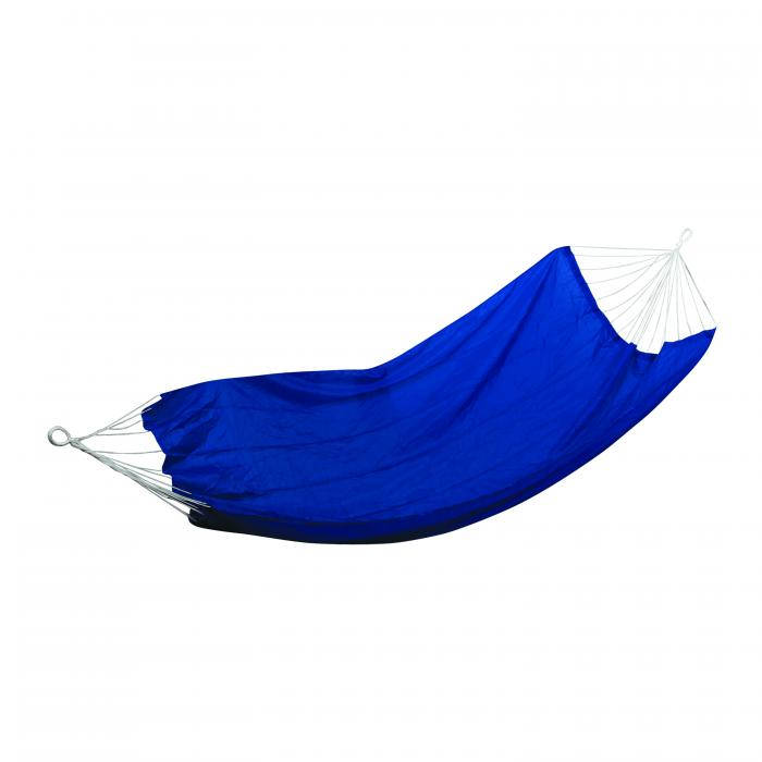 "Stansport Malibu Packable Nylon Hammock - 85"" X 59"" -  Royal Blue"