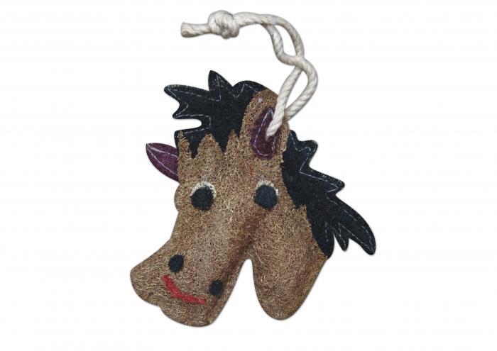 Loofah Art Horse