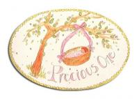 Oval Room Plaque With Ribbon- Preciuos One