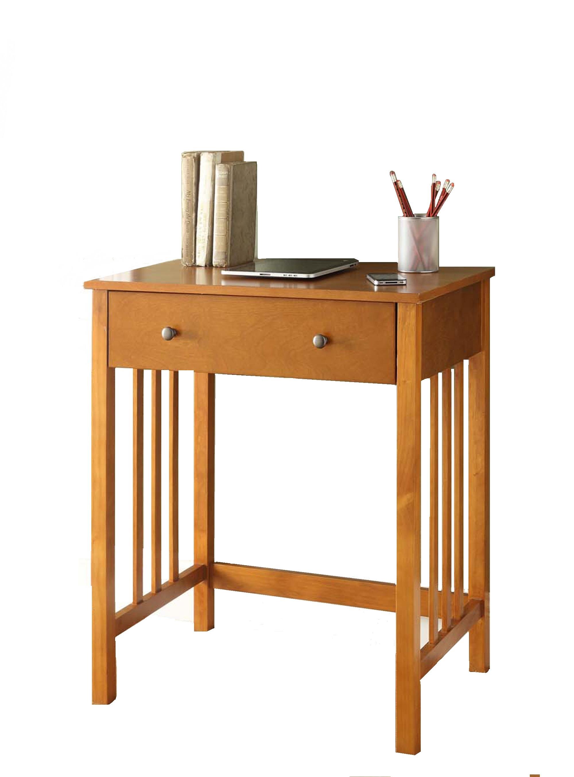 Designs2go Mission Computer Desk Oak