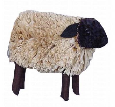 Brushart Lamb Raffia