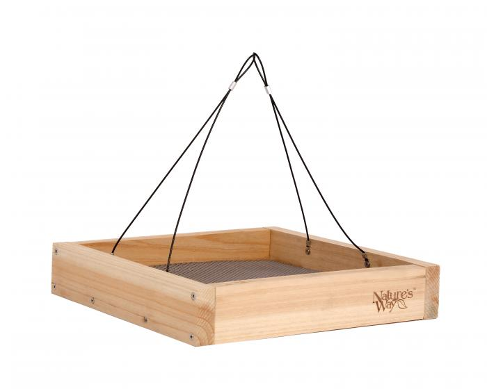 Nature's Way Cedar Tray Feeder