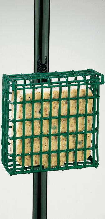 Droll Yankees Suet Feeder with Pole Clamp