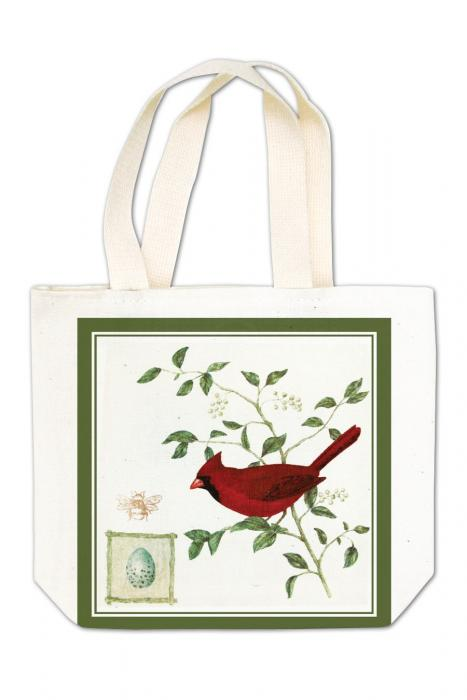 Alice's Cottage Cardinal Gift Tote