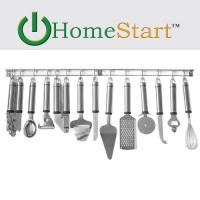 HomeStart 13-Piece Stainless Steel Tool and Gadget Set (Wall Mountable)