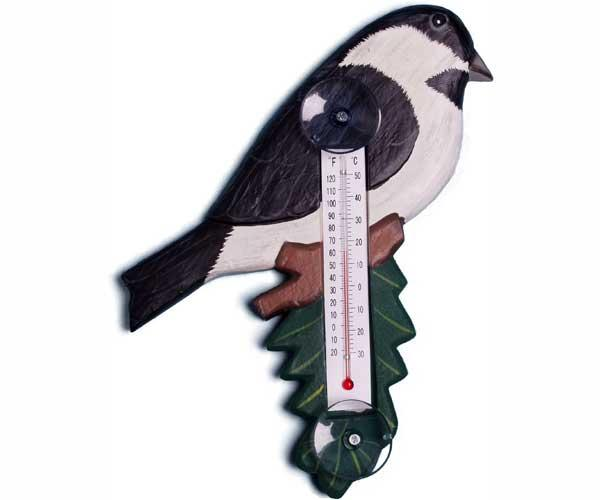 Bobbo Chickadee Thermometer Small