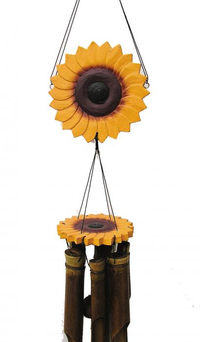 Cohasset Imports Sunflower Wind Chime