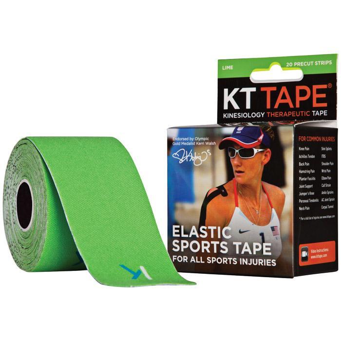 Kt Tape Pre-cut Green