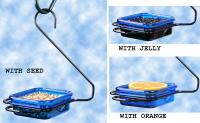 Hiatt Manufacturing Hanging Jelly & Mealworm Bird Feeder