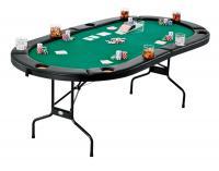 Fat Cat Folding Texas Hold'Em Table