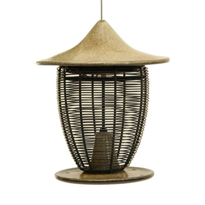 Byer of Maine Pagoda Bird Feeder - Sandy Granite