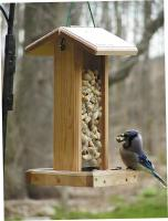 Birds Choice Bluejay Bird Feeder with Hanging Cable