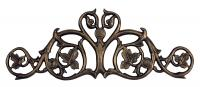 Foliate Hose Holder - French Bronze