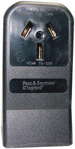 Pass & Seymour 5050 Single-Surface Range Receptacle (3-wire)