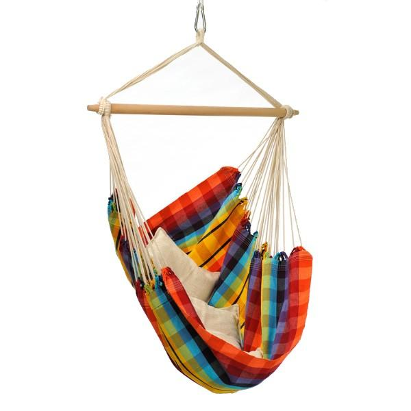 Byer of Maine Brazil Hammock Chair, Rainbow