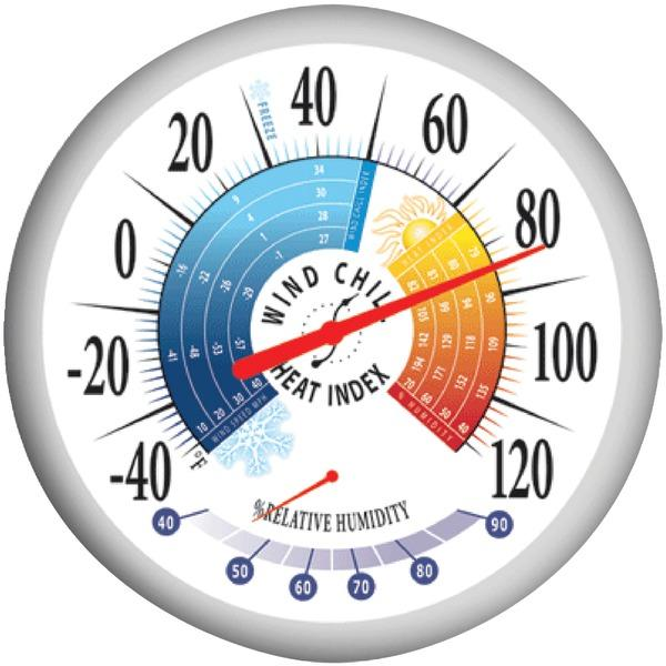 Springfield 90078 13.25 Thermometer with Hygrometer
