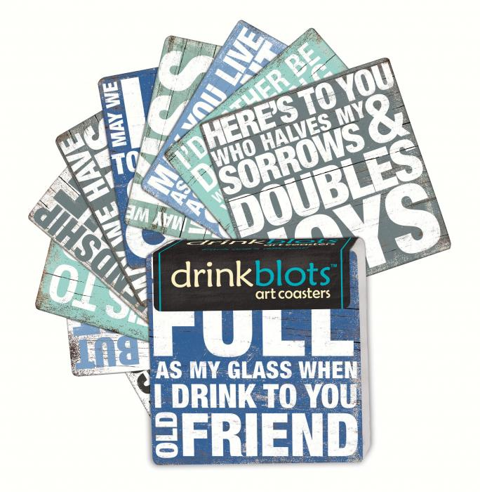 Magnet Works Let's Toast Coasters