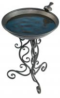 Gardman Ornate Metal Birdbath