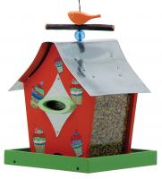 Rosso's International Retro Chic Bird Feeder, Cupcakes
