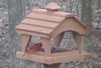 Songbird Essentials Pavillion Bird Feeder