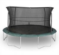 Bazoonigi Kids 14' Orbounder Trampoline And Enclosure (6 Legs/4 Poles)