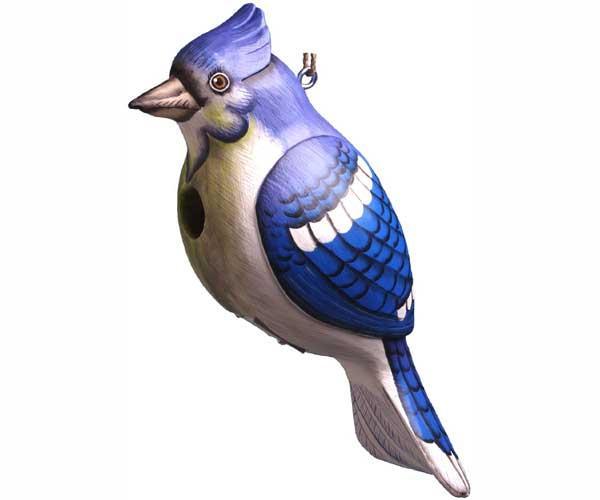 Bobbo Blue Jay Birdhouse