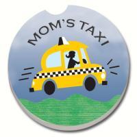 Counter Art Mom's Taxi Car Coaster
