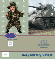 Dress Up America Baby Military Officer - 0-9m