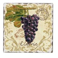 Counter Art Vintage Grapes Trivet