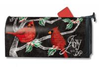 Magnet Works Christmas Cardinals Mailwrap