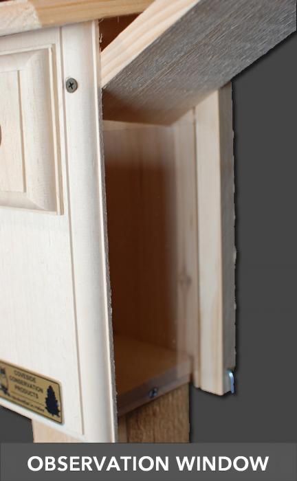 Coveside Open 2-Side Bluebird House