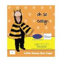 Dress Up America Little Honey Bee Cape Costume Set - 12-24m