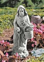 Design Toscano St. Fiacre Gardener's Patron Saint Statue Medium