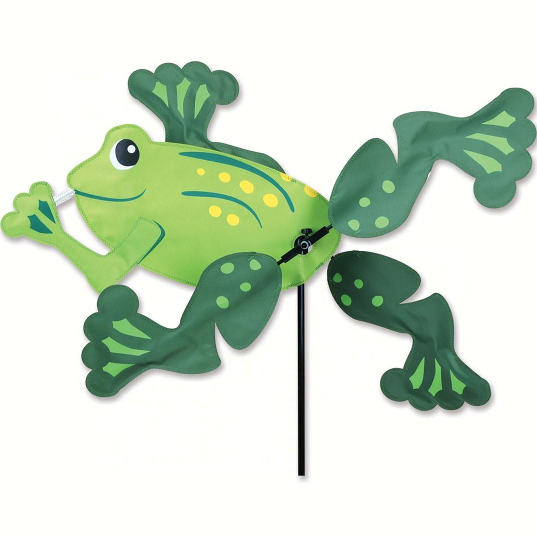 Premier designs 18 inch frog spinner for Wind garden by premier designs