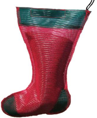 Songbird Essentials Jumbo Holiday Thistle Sack Bird Feeder, Red and Green