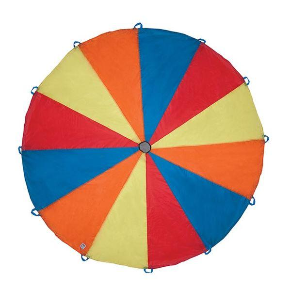 Pacific Play Tent 18001Playchute 10FT Parachute - Blue / Orange / Red / Yellow